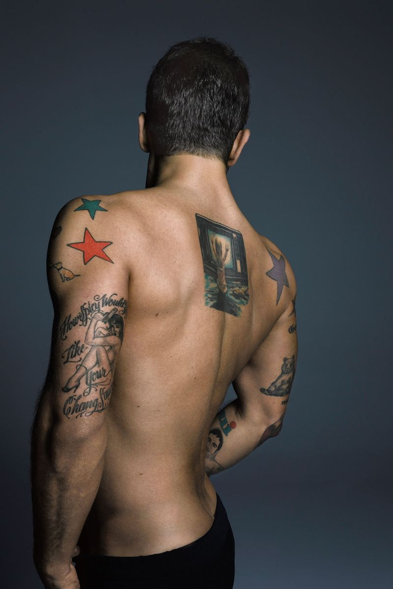 marc jacobs tattoos   the cut