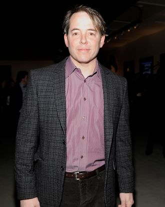 Matthew Broderick==DEWAR'S hosts Pershing Square Signature Center Opening Gala==Pershing Square Signature Center, NYC==January 30, 2012==? Patrick McMullan==Photo - CLINT SPAULDING/PatrickMcMullan.com== ==