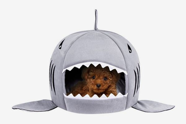 Shark Pet House Washable Cave Bed
