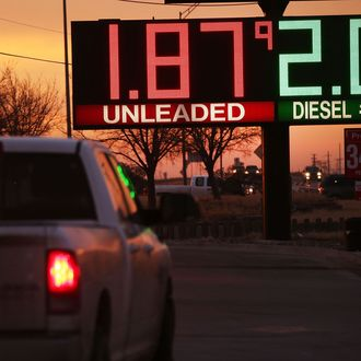 Plunging Energy Prices Put Strain On Texas Economy