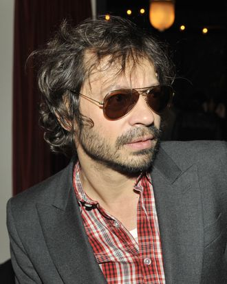 Olivier Zahm==LWREN SCOTT After Party==Gramercy Park Hotel, NYC==February 16, 2012==© Patrick McMullan