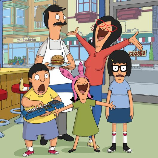BOB'S BURGERS: Join the Belcher family for Season Five of the Emmy Award winning BOB'S BURGERS  Sundays on FOX.  BOB'S BURGERS ™ and © 2014 TCFFC ALL RIGHTS RESERVED.