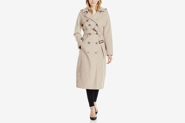 Lark & Ro Women's Classic Maxi Trench Coat