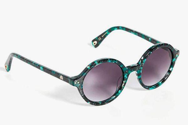 Lele Sadoughi Women's East Village Round Sunglasses
