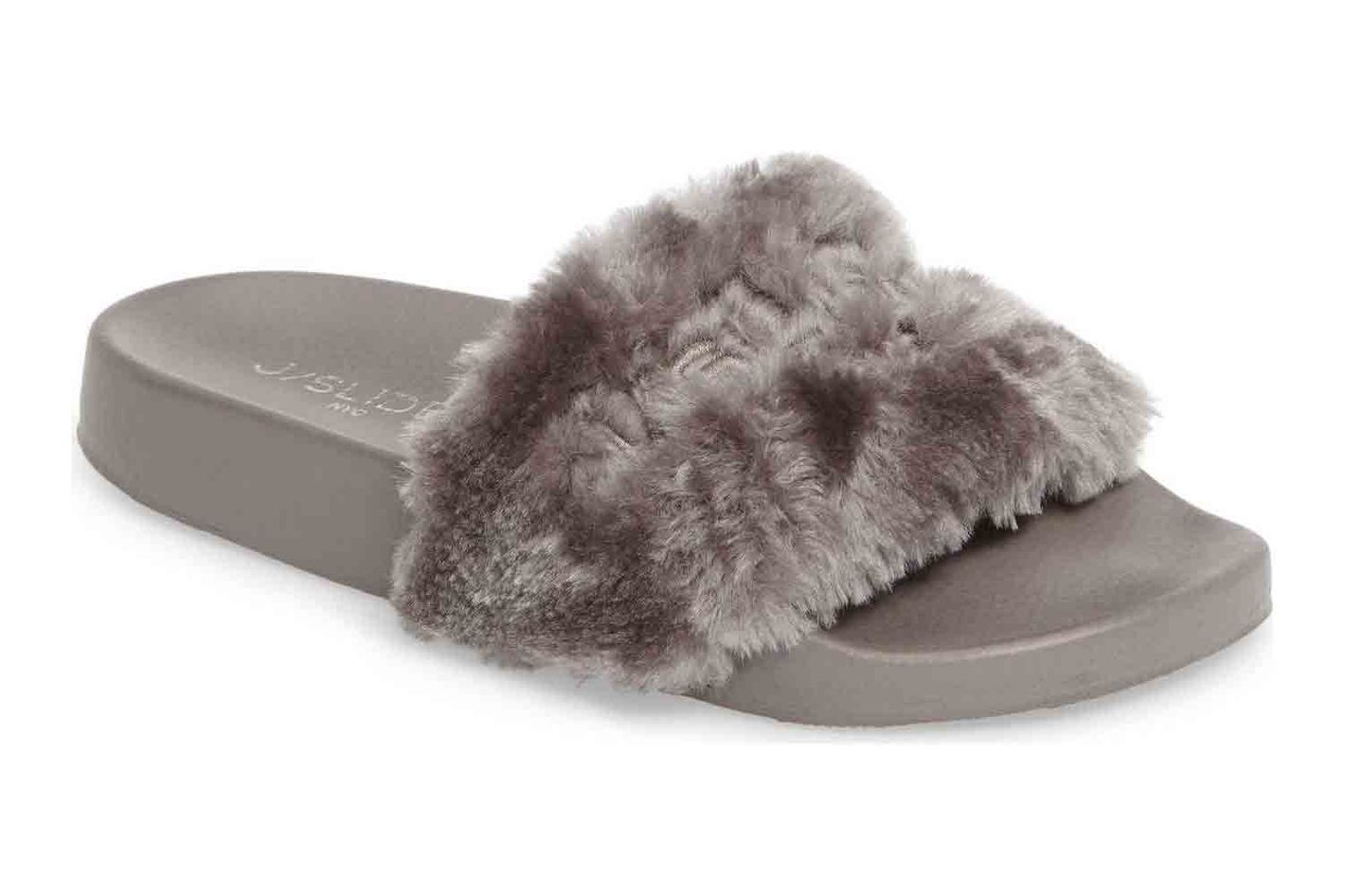 JSlides Samantha Faux Fur Slide