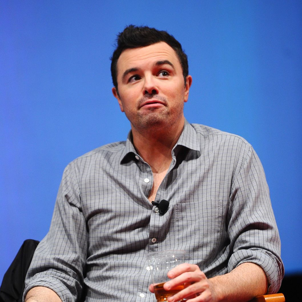 "AUSTIN, TX - MARCH 11:  Director Seth MacFarlane attends ""A Conversation with Seth MacFarlane"" Panel during the 2012 SXSW Music, Film + Interactive Festival at Austin Convention Center on March 11, 2012 in Austin, Texas.  (Photo by Michael Buckner/Getty Images for SXSW)"