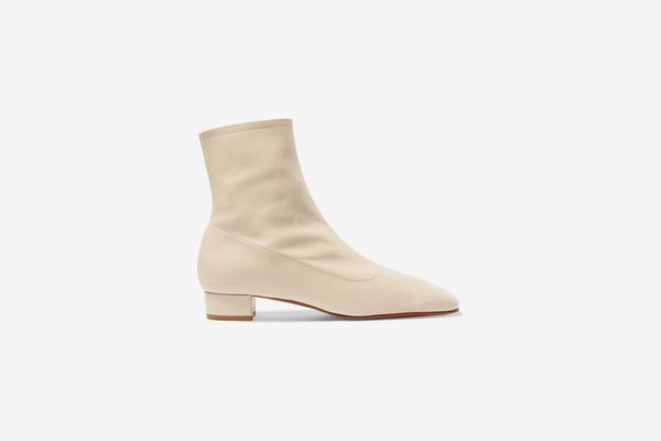 By Far Estes Leather Ankle Boots