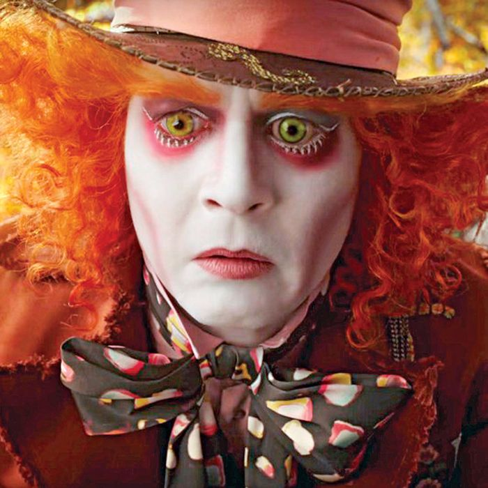 ALICE THROUGH THE LOOKING GLASS (2016) JOHNNY DEPP JAMES BOBIN (DIR) MOVIESTORE COLLECTION LTD