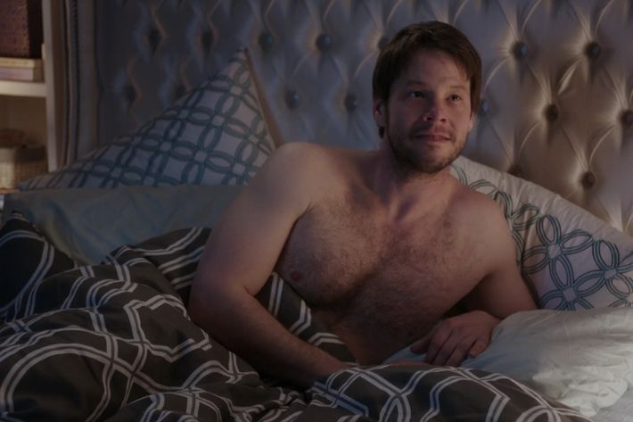 Ike Barinholtz as Morgan.