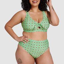 ModCloth Franky High-Waisted Bikini Bottom