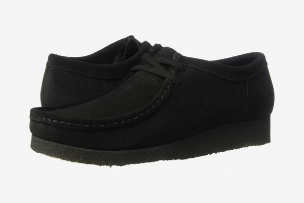 Clarks Wallabee, Black Suede