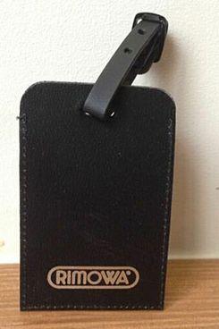 Rimowa Leather Luggage Tag