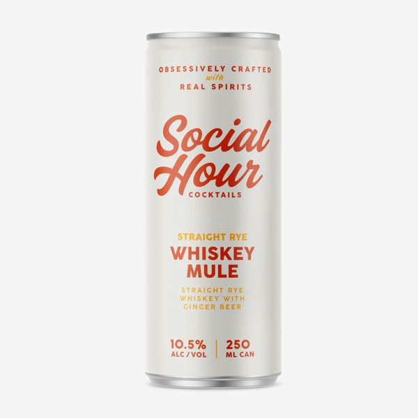 Social Hour Cocktails Whiskey Mule (4-pack)