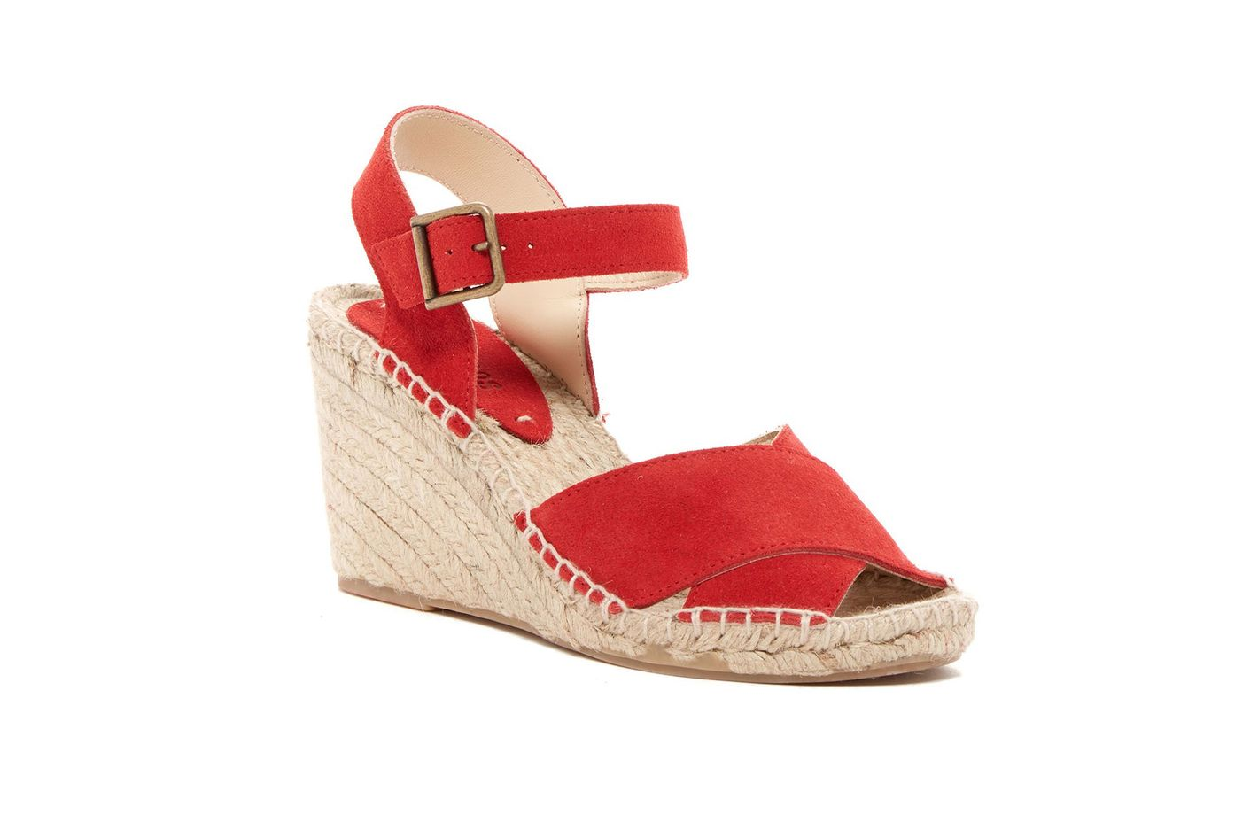 Soludos Suede Espadrille Wedge Sandal