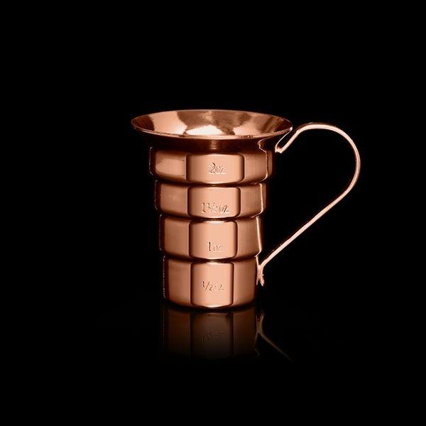 Cocktail Kingdom Stepped Copper Jigger