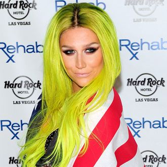 Kesha At Hard Rock's Rehab Pool Party