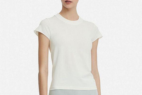 Uniqlo and Alexander Wang Women Airism Seamless Short-Sleeve T-Shirt