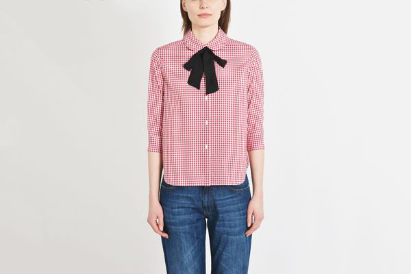 George J. Love Checked Shirt