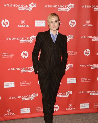 Actress Evan Rachel Wood attends