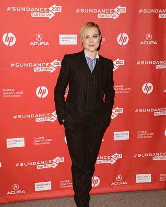 Actress Evan Rachel Wood attends