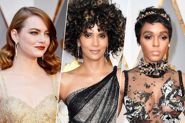 The Best and Weirdest Oscars Beauty Looks