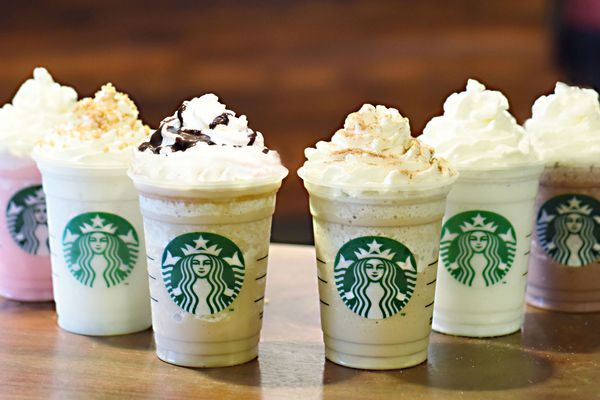 Starbucks Just Unveiled 6 New Frappuccino Flavors