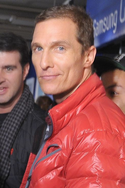 PARK CITY, UT - JANUARY 19: Matthew McConaughey attends Day 2 of Samsung Galaxy Lounge at Village At The Lift 2013  on January 19, 2013 in Park City, Utah.  (Photo by Michael Loccisano/Getty Images for Samsung)