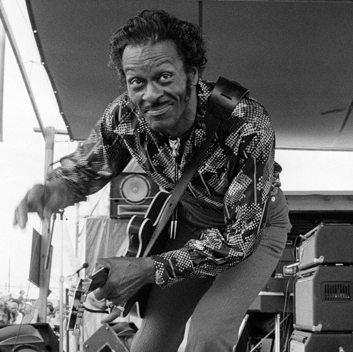 Chuck Berry Invented The Idea Of Rock And Roll