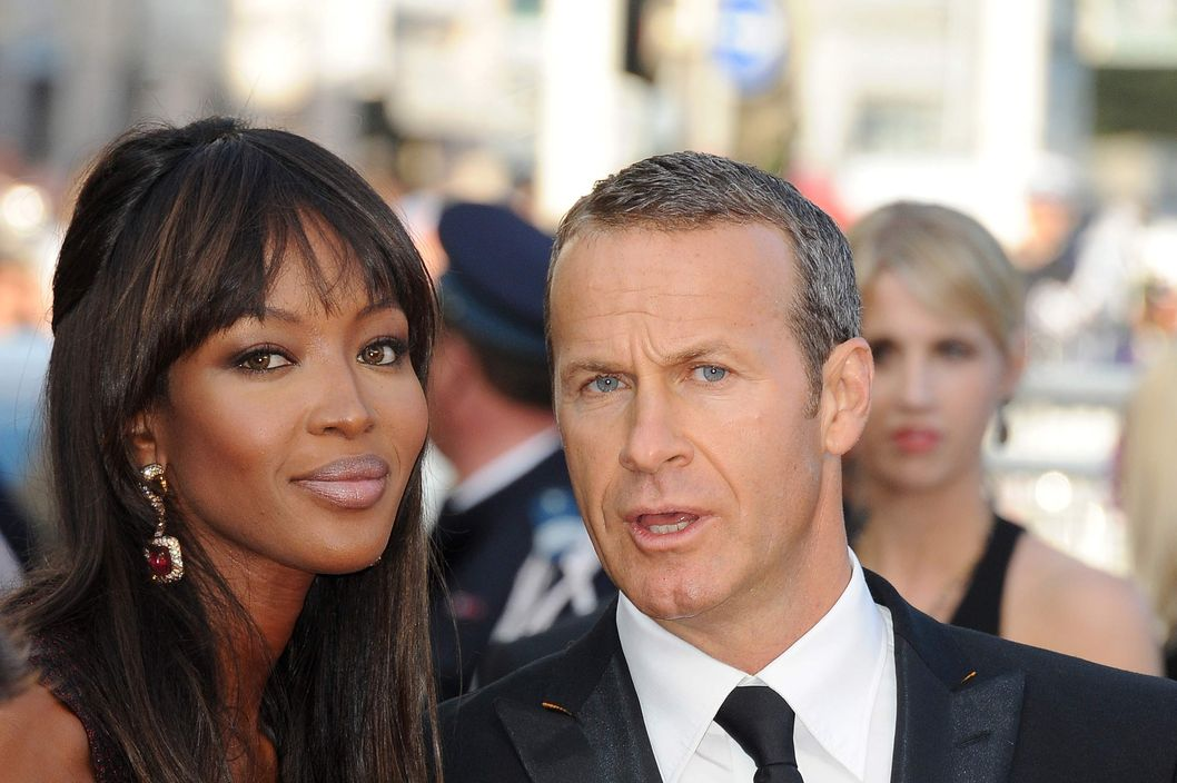 "Naomi Campbell and Vladimir Doronin at the premiere of ""The Beaver"" during the 64rd Cannes International Film Festival."