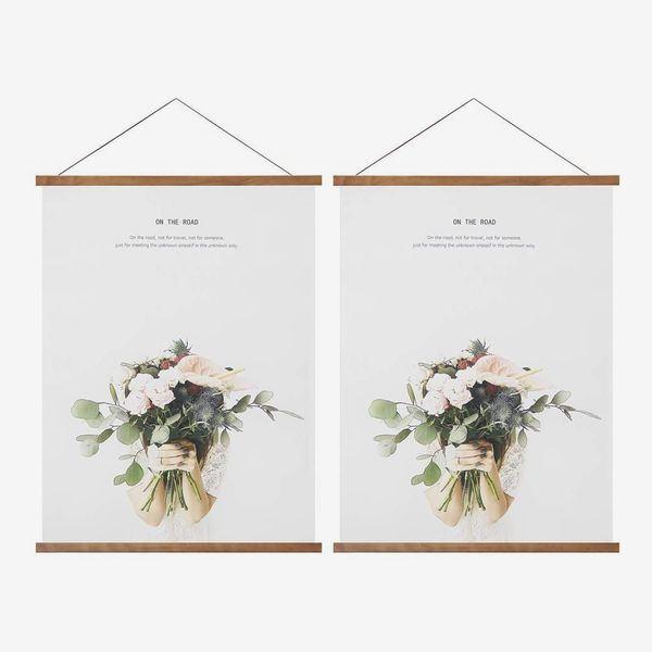 Miaowater 2-Pack Poster Frame Hangers