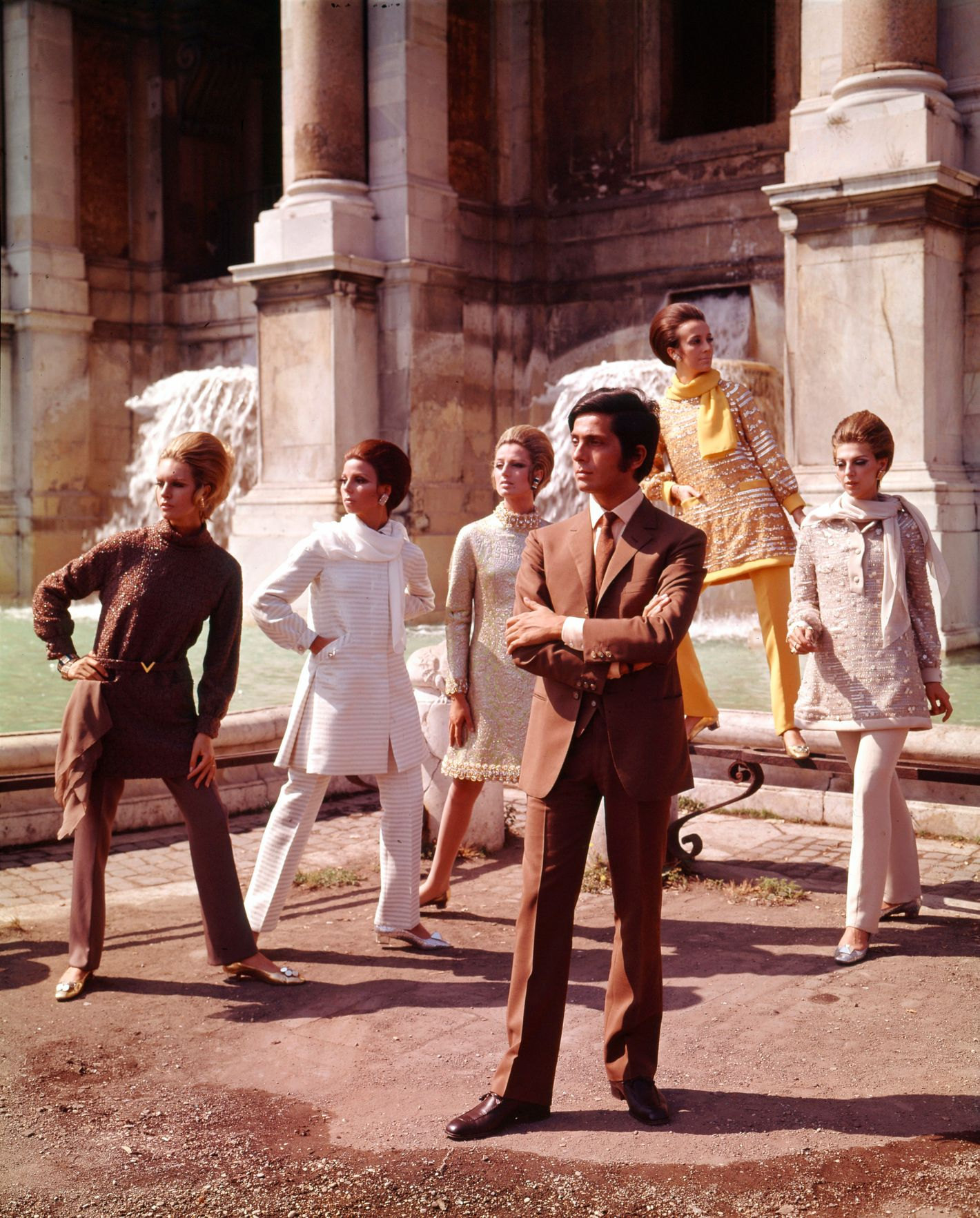 Glamorous Italian Fashion Vintage Valentino 80s Versace And More