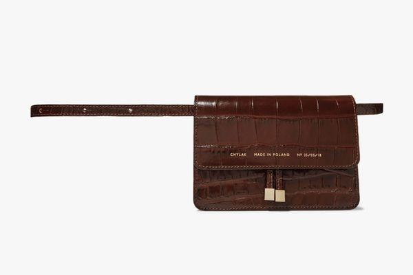 Chylak Mini Croc-Effect Belt Bag