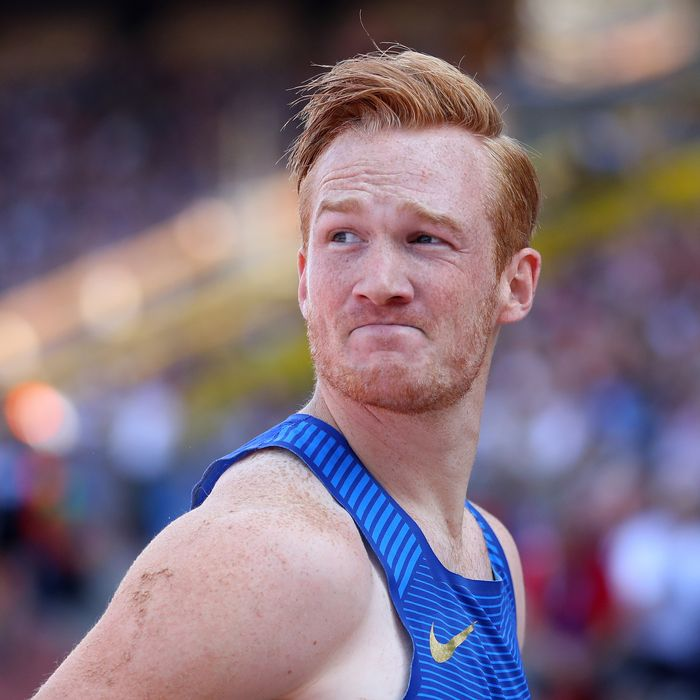 Greg Rutherford.