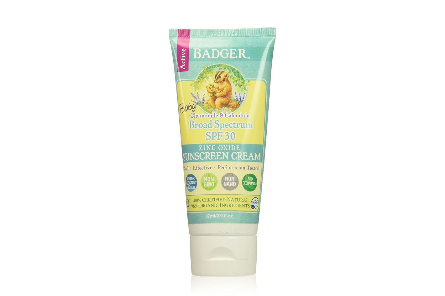Badger Baby Broad Spectrum SPF 30 Sunscreen