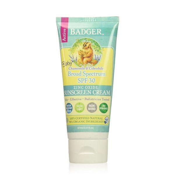 Badger Baby Broad Spectrum SPF 30 Sunscreen