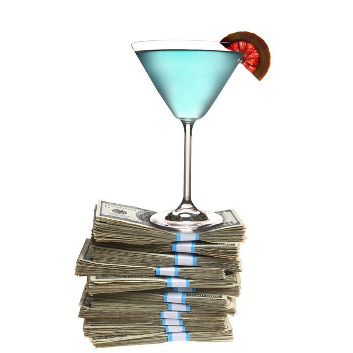 Hey, Blue Curaçao is expensive!