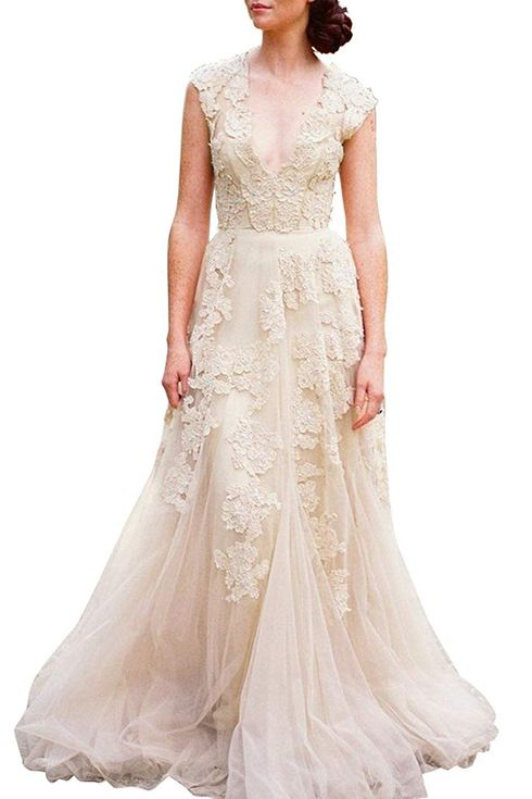 8 Amazon Wedding Dresses Under 150 2019 The Strategist New York Magazine