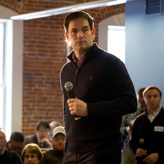 Presidential Candidate Marco Rubio Holds Town Halls With Trey Gowdy