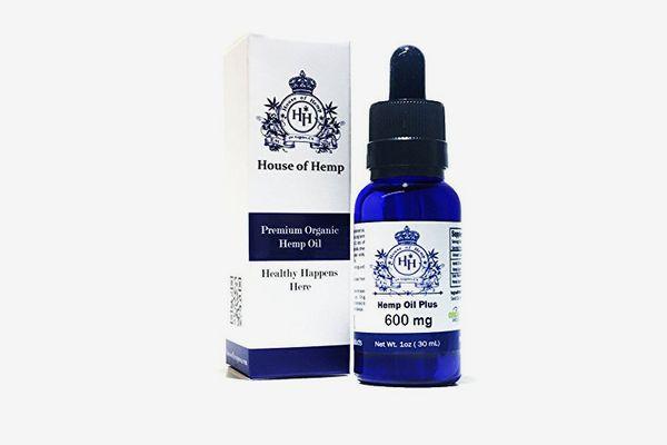House of Hemp Premium Organic Hemp Extract Oil