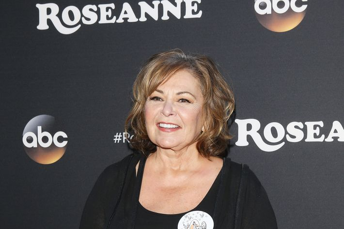 Roseanne Barr arrives to the