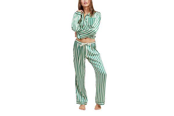 Ruthie Emerald PJ Set