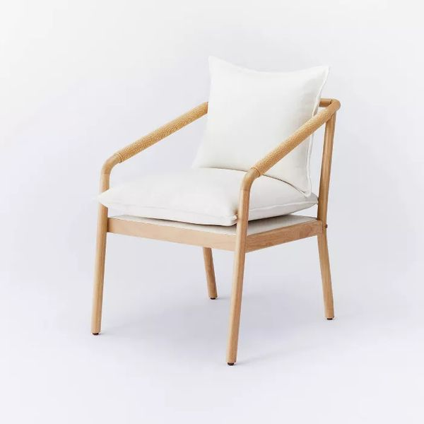 Threshold designed with Studio McGee Ventura Upholstered Accent Chair with Wood Frame