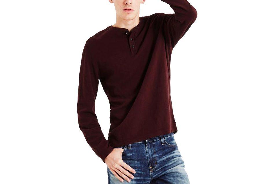 AG Jeans Remi Long Sleeve Henley
