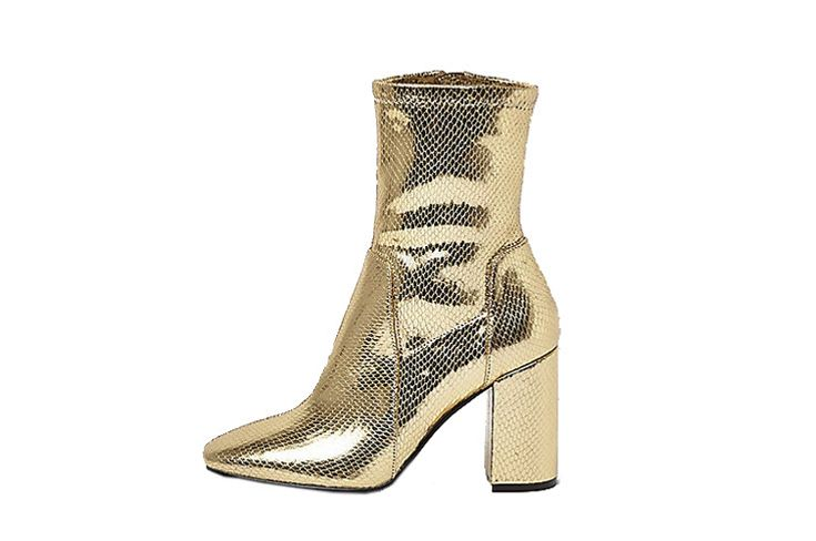 Gold Sock Boot