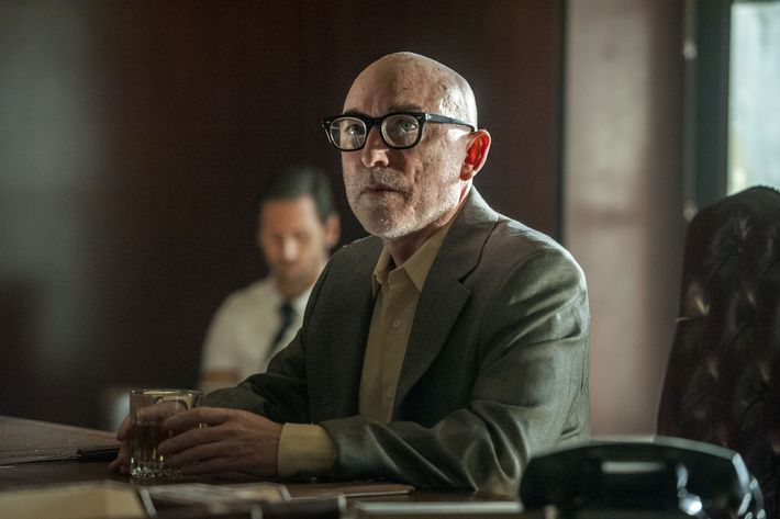 Jackie Earle Haley as Odin Quincannon - Preacher _ Season 1, Episode 4  - Photo Credit: Lewis Jacobs/Sony Pictures Television/AMC