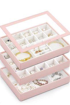 Vlando Medium Stackable Jewelry Organizer Tray