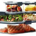 Rubbermaid Brilliance Food Storage Container, 10-Piece Set