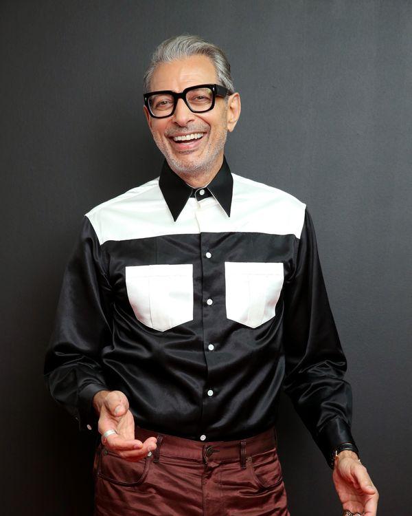 a77c83f3ea A Satin Calvin Klein Shirt Made Jeff Goldblum Feel  Even More  Like a Daddy