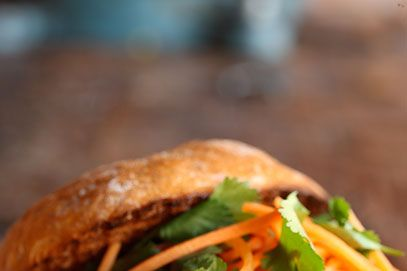 The Portuguese-style chicken sandwich.