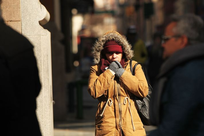 Frigid Conditions Persist In New York City